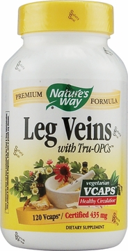 Leg Veins with Tru-OPCs by Nature's Way - 120 Vegetarian Capsules