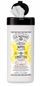 Lemon All Purpose Wipes by J.R. Watkins - 35 Wipes