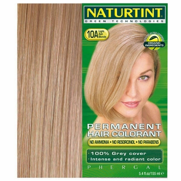 Naturtint Hair Colourants 10A (Light Ash Blonde) - 5.6 Fluid Ounces