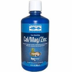 Liquid Cal/Mag/Zinc Pina Colada by Trace Minerals Research - 32 oz.