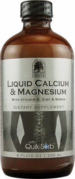 Liquid Calcium and Magnesium by Nature's Answer - 8oz.