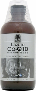 Liquid Co-Q10 with Vitamins C and E by Nature's Answer - 8oz.