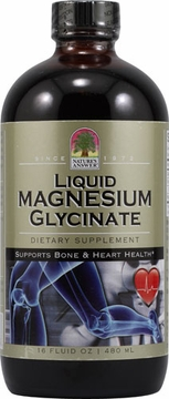 Liquid Magnesium Glycinate by Nature's Answer - 16oz.