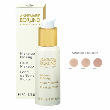 Liquid Make-Up Honey by Borlind Of Germany - 1oz.