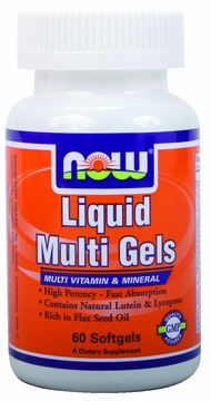 Now Foods Liquid Multi Gels - 60 Softgels
