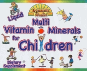 Liquid Multi Vitamin And Mineral For Children by Dynamic Health - 8 fl. oz.