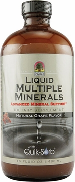 Liquid Multiple Minerals by Nature's Answer - 16oz.
