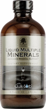 Liquid Multiple Minerals Iron Free Natural Grape by Nature's Answer - 8oz.