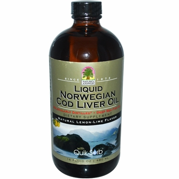 Liquid Norwegian Cod Liver Oil by Nature's Answer - 16oz.