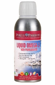 Liquid Omega 3 Super with Pomegranate by Purity Products - 5 Ounces