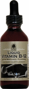 Liquid Vitamin B-12 with Natural Flavors by Nature's Answer - 2oz.