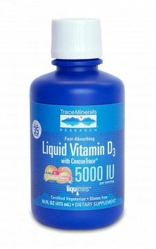 Liquid Vitamin D3 by Trace Minerals Research - 16 oz.