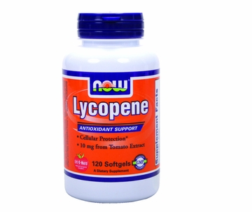 Now Foods Lycopene 10 mg - 120 Softgels