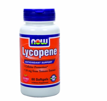 Now Foods Lycopene 10 mg - 60 Softgels