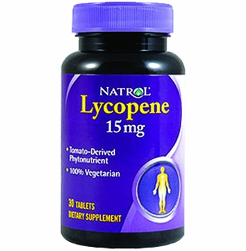 Lycopene 15mg by Natrol - 30 Tablets