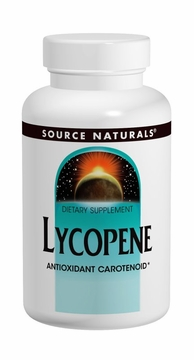 Source Naturals Lycopene 15 mg - 60 Softgels