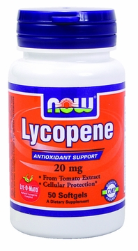 Now Foods Lycopene 20 mg - 50 Softgels