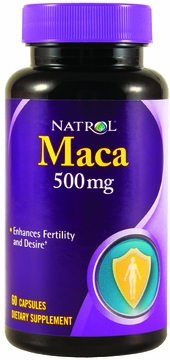 Maca Root 500mg by Natrol - 60 Capsules