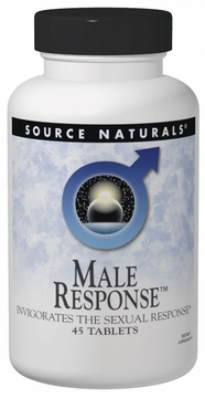 Source Naturals Male Response Bio-Aligned Formula - 45 Tablets