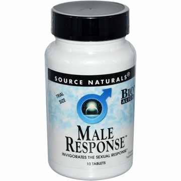 Source Naturals Male Response Trial Size - 10 Tablets