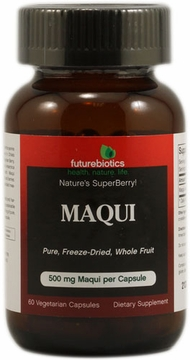 Futurebiotics Maqui Freeze-Dried Superfruit - 60 Vegetarian Capsules