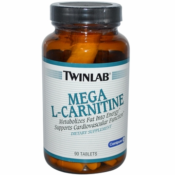 Twinlab Mega L-Carnitine 500 mg - 90 Tablets