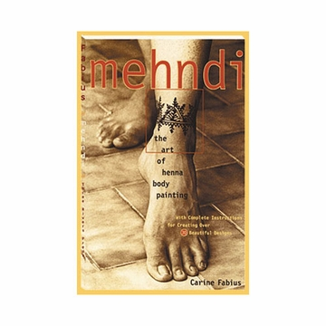 Lakaye Studio Mehndi Art of Henna Body Painting Book
