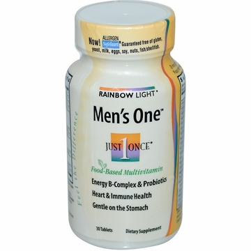 Rainbow Light Men's One Multivitamin - 30 Tablets
