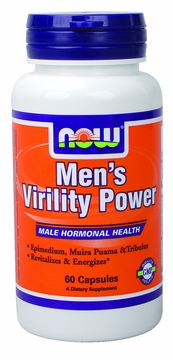 Now Foods Men's Virility Power - 60 Capsules