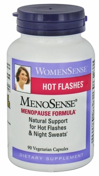 MenoSense by Natural Factors - 90 Vegetarian Capsules