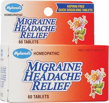 Migraine Headache by Hylands - 60 Tablets
