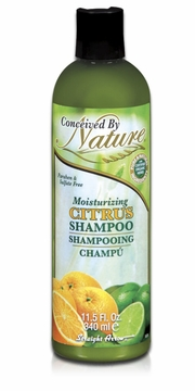 Moisturizing Citrus Shampoo by Conceived by Nature - 11.5 oz