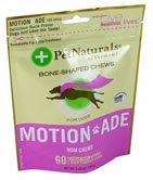 Pet Naturals of Vermont Motion Ade MSM Chews for Dogs Duck - 60 Chews