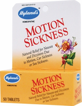 Motion Sickness by Hylands - 50 Tablets