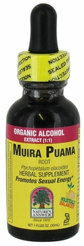 Muira Puama by Nature's Answer - 1oz.