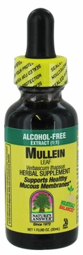 Mullein Leaves Alcohol Free by Nature's Answer - 1oz.
