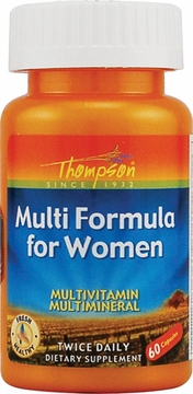 Thompson Nutritional Multi Formula for Women - 60 Capsules