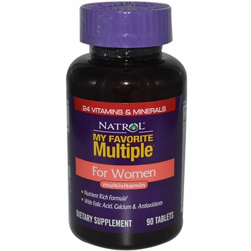 My Favorite Multiple for Women by Natrol - 90 Tablets