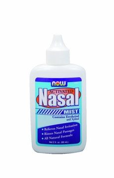Now Foods Nasal Mist Activated - 2 Fluid Ounces