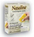 Nasaline Salt Premeasured Packets by Nasaline - 50 Packets