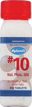 Natrum Phosphoricum 30X by Hylands - 500 Tablets