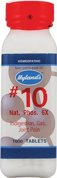 Natrum Phosphoricum 6X by Hylands - 1000 Tablets