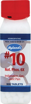Natrum Phosphoricum 6X by Hylands - 500 Tablets