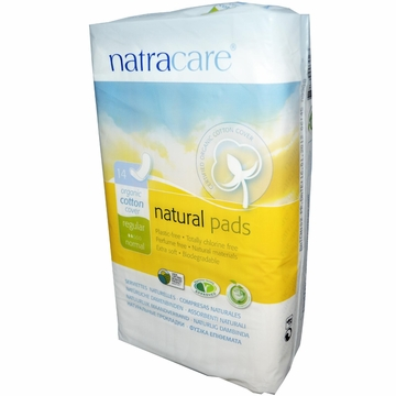 Natural Maxi Pads Regular by Natracare - 14 Pads