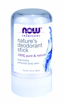 Now Foods Nature's Deodorant Stick (Stone) - 3.5 Ounces