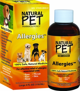 Naturl Pet Dog Allergies by King Bio - 4oz.