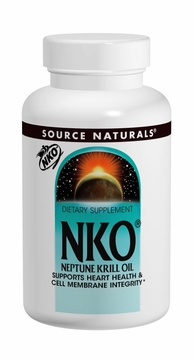 Source Naturals NKO Neptune Krill Oil 500 mg - 120 Softgels