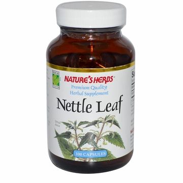 Nettle Leaf by Nature's Herbs - 100 Capsules