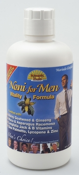 Noni for Men Vitality Formula by Dynamic Health Laboratories - 32oz.