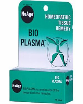NuAge Tissue Salts Bioplasma 6X by Hylands - 125 Tablets
